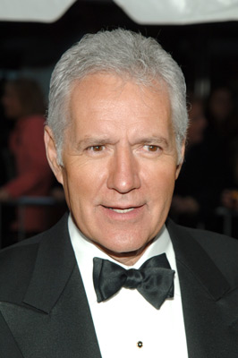 Trebek in Jeopardy?