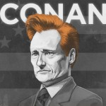 Conan appearing on <I>60 Minutes</I>